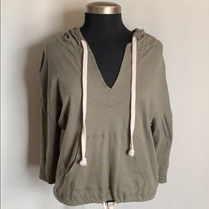 Army Green American Eagle Outfitters Hoodie